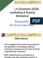 18. B2B Marketing & Buying Behavior