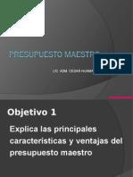 Presupuesto Maestro (1)