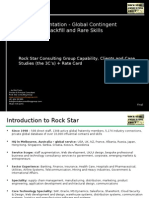 Global Workforce Solutions and Professional Services Rock Star Consulting Group