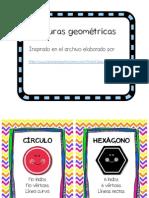 Mini posters figuras geometricas