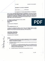 3 Amendment to Contract Agreement June 2006
