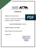 Práctica 3-Administración Del Flujo de Manufactura