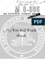 G8T 1944 US Army WWII Truck Ford 15 Ton 267p