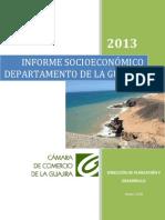 Informe Socio Economico La Guajira 2013