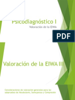 Valoracion de la EIWA PR