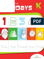 Counting Up the Holidays Workbook