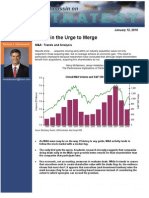 Michael Mauboussin - Surge in the Urge to Merge, M&a Trends & Analysis 1-12-10