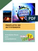 Panfleto de Actividades Para Conquistadores 2015