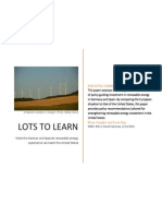 The Renewable Transition in Spain and Germany