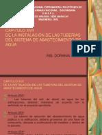 Capitulo Xvii Instalacion de Las Tuberias