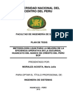 Ejemplo de Plan de Tesis UNCP