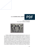 LA ACADEMIA DEL CIMENTO - SUSANA GÓMEZ LÓPEZ - Universidad Complutense. Madrid
