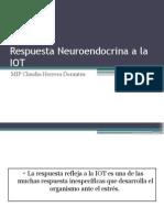 Respuesta Neuroendocrina a La IOR