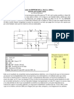 Programador de EEPROM 24Cxx