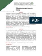 Analisis coproparasitario