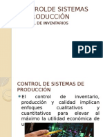 Controlde Sistemas de Producción