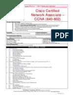 Brochure CCNA 640-802 Ver0807