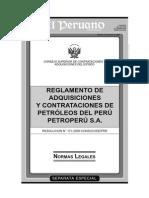 Contrataciones de Petroleo