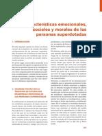 Texto - Características Emocionales, Sociales y Morales en Superdotados