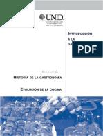 Introduccion a La Gastronomia Universidad Interamericana