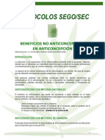 beneficios no anticonceptivos de los anticonceptivos orales