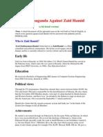 Zaid Hamid Exposed (Reply)