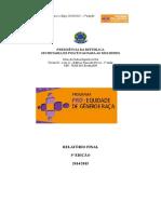 Relatório da 5ª Edição do Programa Pró-Equidade de Gênero e Raça - SERPRO