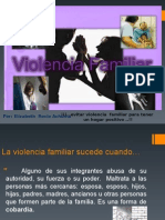 Violencia Familiar Ppt