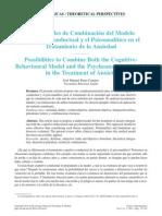 Modelo Cognitivo Conductual y Psicodinámico en Trastorno de Ansiedad