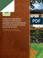 Evaluación Multicriterio y Sig Para Planificacion
