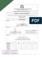 Instructivo Operación Para Los MAPS 2780-005-002