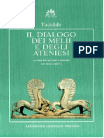 Dialogo Dei Melii e Degli Ateniesi