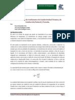 Practica 6 Conductividad Termica
