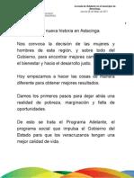 26 05 2011 Jornada de Adelante en el municipio de Astacinga