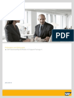 Performance and Sizing guide SAP BusinessObjects Mobile 4.0 Support Package 4
