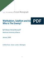 Wahhabism Salafism and Islamism