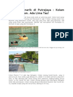 Kolam Renang Di Putrajaya