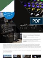 Avid Pro Mixing 2015 ApV6