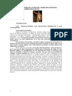 Guía Obligaciones, Actos Jurídicos y Contratos