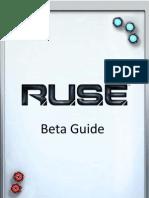 RUSE Beta Manual