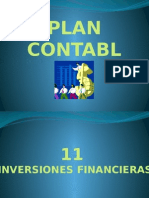 Plan Contable Cta 11
