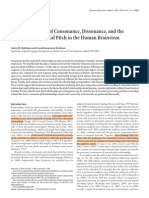 2009 Neural Correlates Consonance Disonance