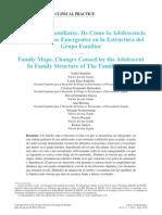 Adolescencia y Nuevos Emergentes en La Estructura Familiar