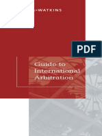 Guide to International Arbitration 2014