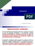 Introduccion a Las Operaciones Unitarias