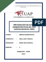 IMPUGNACION DE ACTOS ADMINISTRATIVOS EN VIAS JUDICIALES MONOGRAFIA.docx