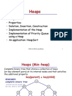 Data structures and algorithms -Heaps