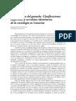 LA INVENCIÓN DEL GUANCHE. CLASIFICACIONES IMPERIALES Y CORRELATOS IDENTITARIOS DE LA RACIOLOGÍA EN CANARIAS - Fernando Estévez González. Universidad de La Laguna