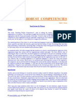 Building Robust Competencies