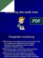 Monitoring Mutu Dan Audit